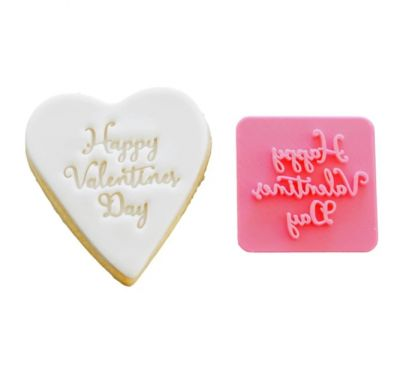 Valentine - Happy Valentines Day Cookie Stamp